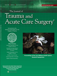 View 2018 MHSRS Supplement to theJournal of Trauma (new window)