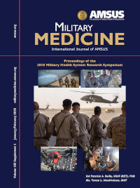2018 Military Medicine Journal cover
